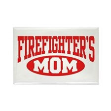 Firefighter's Mom Rectangle Magnet
