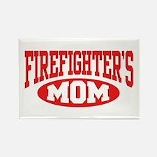 Firefighter's Mom Rectangle Magnet