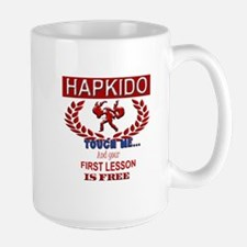 Hapkido Touch Me Mugs
