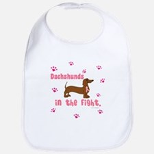 Dachshunds In The Fight (BC) Bib