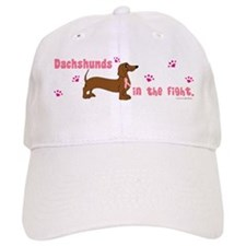 Dachshunds In The Fight (BC) Baseball Cap