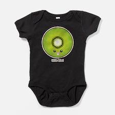 Cute Kiwi fruit Baby Bodysuit