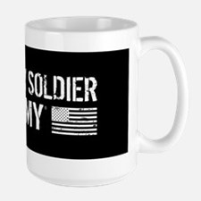 U.S. Army: I Love My Soldier (Black) Mugs