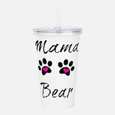Mama Bear Acrylic Double-wall Tumbler