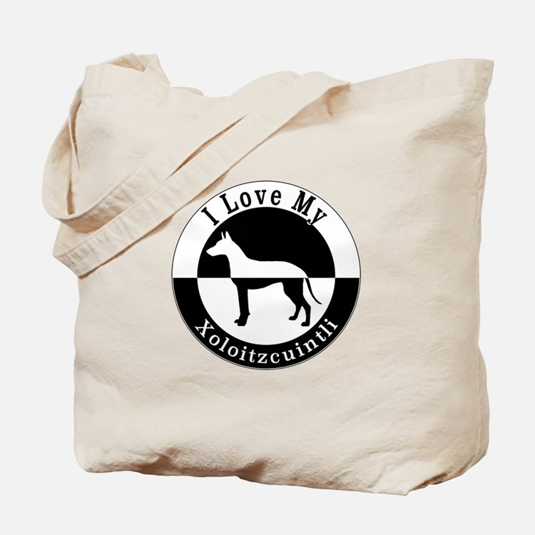 Cute Xoloitzcuintli Tote Bag