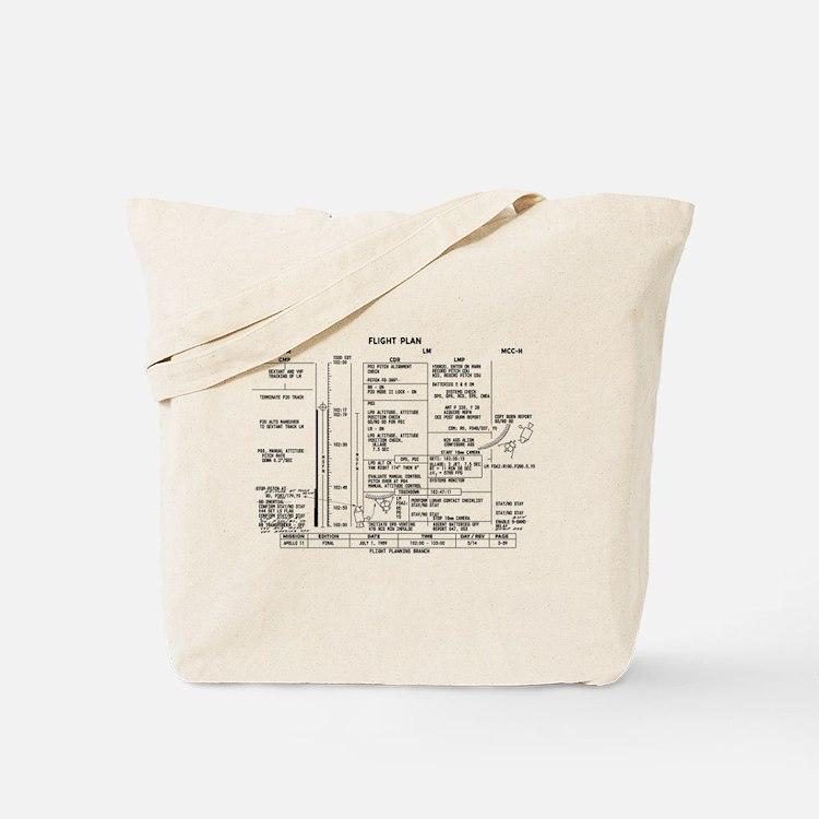 Cute Nasa moon landing Tote Bag