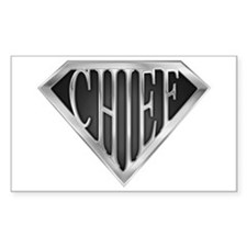 SuperChief(metal) Rectangle Decal
