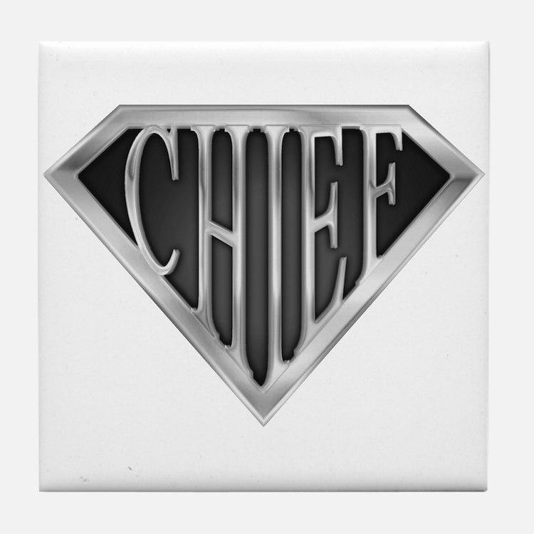 SuperChief(metal) Tile Coaster