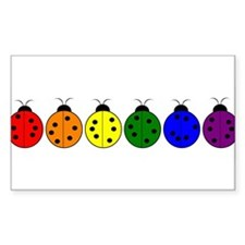 Pride Bugs Rectangle Decal