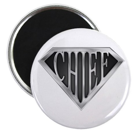 "SuperChief(metal) 2.25"" Magnet (100 pack)"