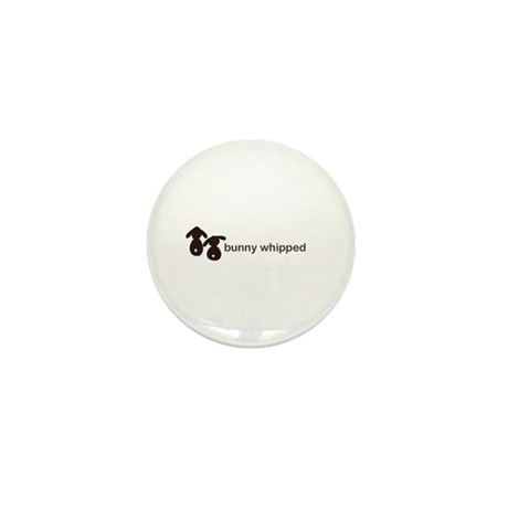 bunny whipped Mini Button (100 pack)