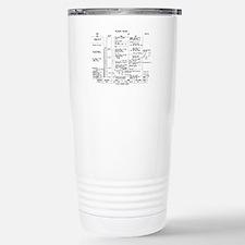 Apollo 11 Flight Plan Travel Mug