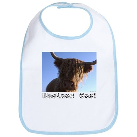 "Scottish ""Heeland Coo"" Bib"