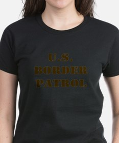 BORDER PATROL UNITED STATE BO Ash Grey T-Shirt