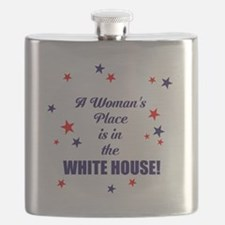 A womans place is in the white house Flask