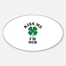 Kiss me I'm OCB Decal