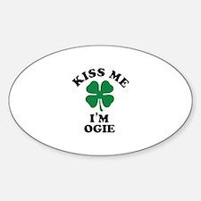 Kiss me I'm OGIE Decal