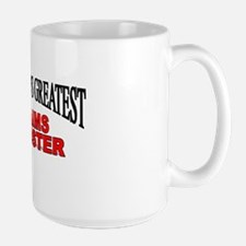 """The World's Greatest Claims Adjuster"" Large Mug"