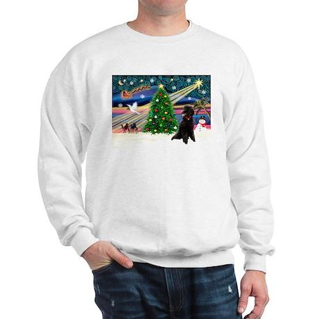 XmasStar/Poodle (ST-B) Sweatshirt