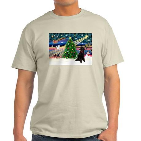 XmasStar/Poodle (ST-B) Light T-Shirt