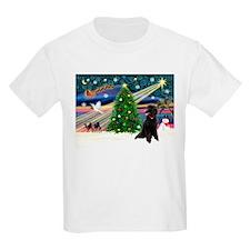 XmasStar/Poodle (ST-B) T-Shirt