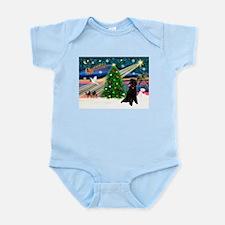 XmasStar/Poodle (ST-B) Infant Bodysuit