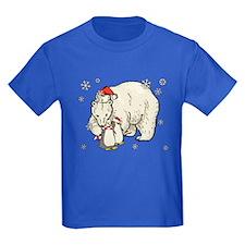 Christmas Polar Bear T