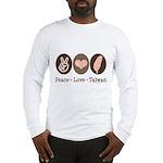 Peace Love Taiwan Long Sleeve T-Shirt