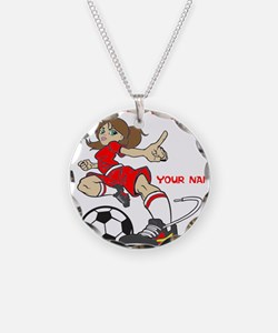 PERSONALIZED SOCCER MOM Necklace