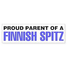 Proud Parent of a Finnish Spitz Bumper Sticker