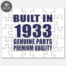 Built In 1933 Puzzle