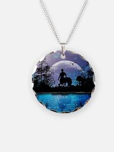 Wonderful centaur silhouette Necklace