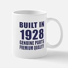Built In 1928 Mug