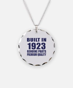 Built In 1923 Necklace
