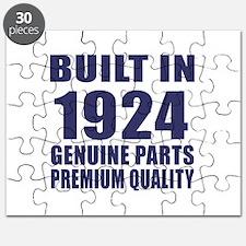 Built In 1924 Puzzle