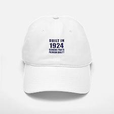 Built In 1924 Baseball Baseball Cap