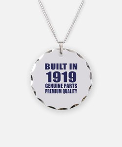 Built In 1919 Necklace