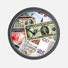 Money Talks - Wall Clock