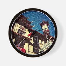 CHINA TOWN * Wall Clock