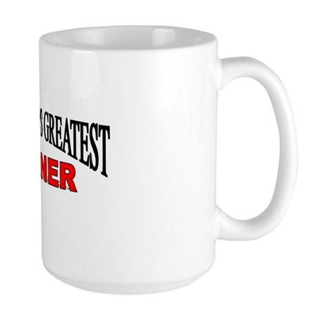 """The World's Greatest Canner"" Large Mug"