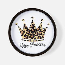 Diva Princess * Wall Clock
