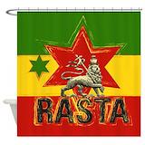 Reggae Shower Curtains