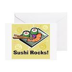Sushi Rocks Greeting Card