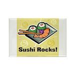 Sushi Rocks Rectangle Magnet