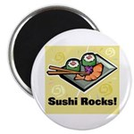 Sushi Rocks Magnet