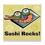 Sushi Rocks Tile Coaster