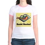 Sushi Rocks Jr. Ringer T-Shirt
