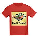 Sushi Rocks Kids Dark T-Shirt
