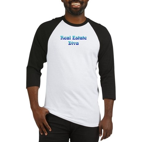 Real Estate Diva Baseball Jersey