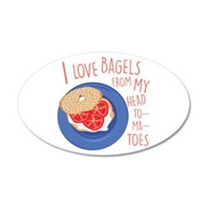 Love Bagels Wall Decal